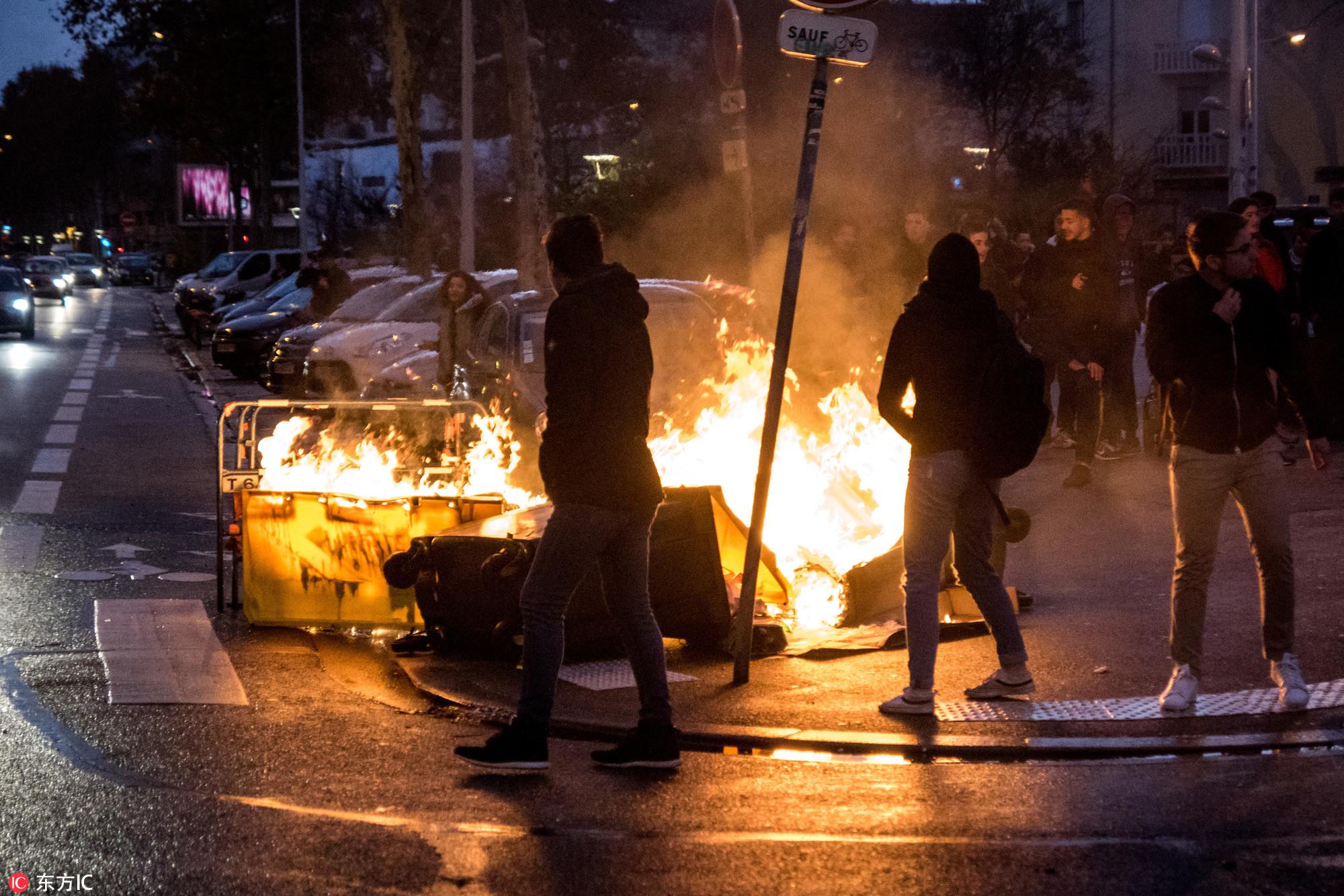 燃烧的巴黎:从巴黎街头革命看法国的经济问题